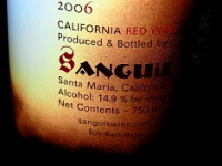 Sanguis – Blood and Wine
